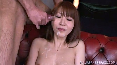 Asian gangbang, Asian tits, Asian facial