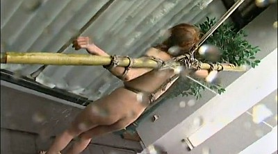 Asian tied, Water, Nipple, Asian bondage