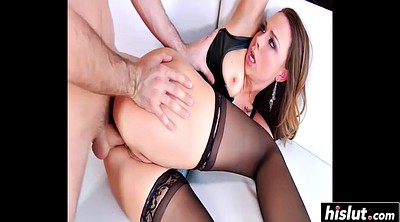 Chanel preston, Preston, Big cock anal, Anal stocking