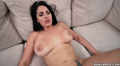 Clean, Latina milf, Latina doggy fucking brunette