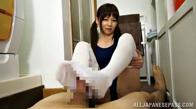 Footjob, Asian feet, Asian foot, Suit