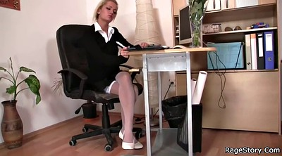 Blowjob, Office young