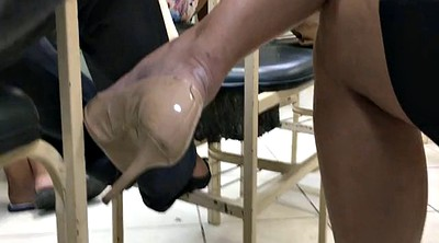 High-heeled, High, Candid, High heels fetish