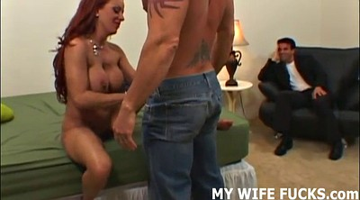 Cuckold femdom, Watch, Male, Fuck you, Wife watching, Watching wife fucked