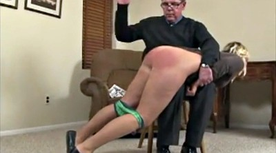 Spanking, Young daughter