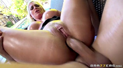 Alena croft, First anal, Oil anal
