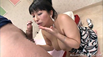 Tits job, Deliver, Busty mature, Asian mature