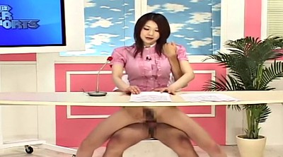 Japanese, Asian, Japanese fuck, News, Reporter
