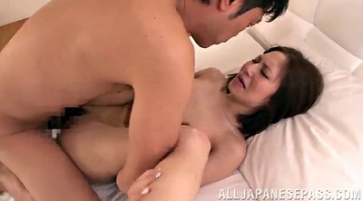 Asian orgasm, Hairy lick