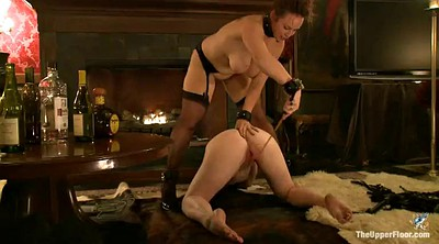 Slave, Spanked, Slave licking