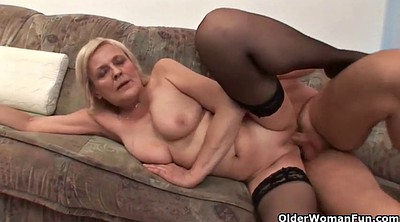 Old mom, Mature mom, Granny sex