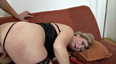 Mature facial, Fat granny, Big ass granny