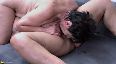 Granny, Mother, Fucking, Lesbian milf, Fuck mother, Young mother