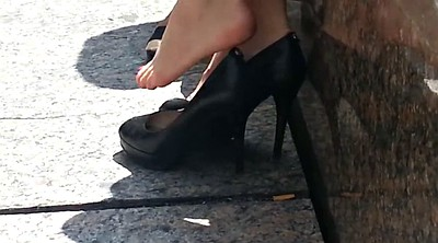 Soles feet, High-heeled shoes, Feet soles, Candid soles, Candid feet
