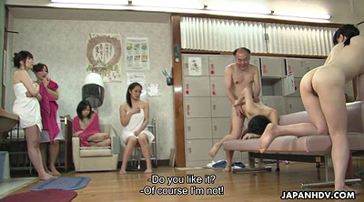Spa, Teen orgy, Japanese granny