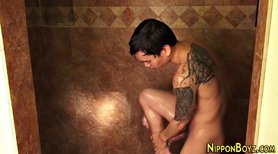 Japanese solo, Shower, Piercings, Solo japanese