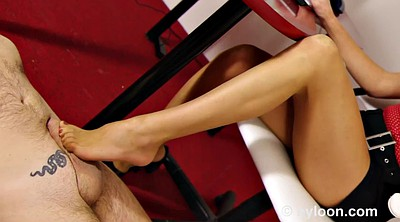 Pantyhose, Stocking, Footjob, Office, Stockings, Nylon footjob