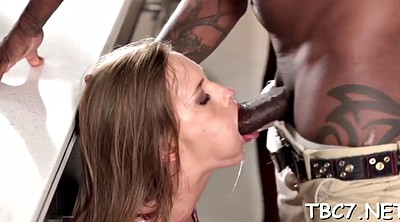 Interracial, Big black cock