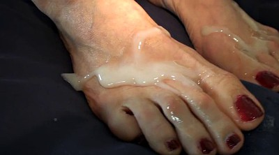Foot job, Mature foot
