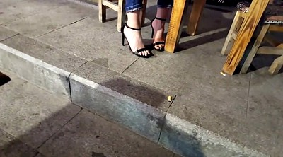 Foot, Heels, Hidden cam