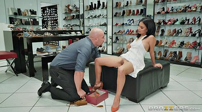 Shoes, Cuckold foot, Cuckold feet, Monica, Lick foot, Licking shoes
