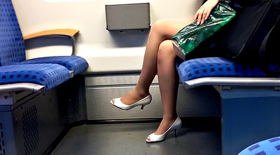 Train, Peep, Nylon foot, Peeping