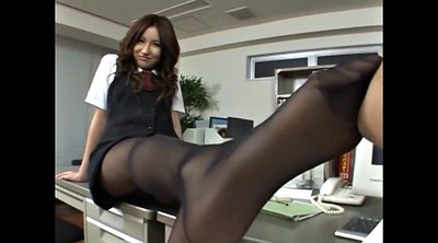 Leg, Asian foot, Pantyhose feet, Asian feet, Feet cum, Cum on foot