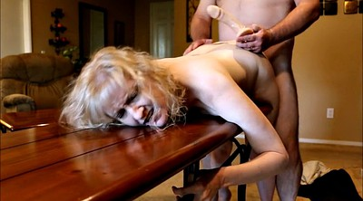 Housewife, Spanked, Table, Mature wife