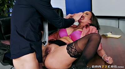 Office stocking, Stocking anal, High-heeled, Anal heels, Raven bay, Butthole