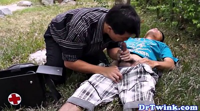 Air, Asian doctor, Twins, Outdoors