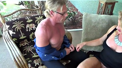 Mature son, Handjob son, Blowjob mom