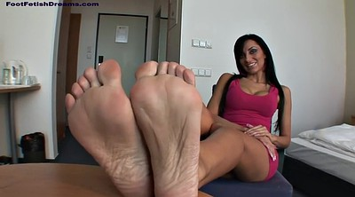 Footjob, Foot massage, Masturbating, Veronica