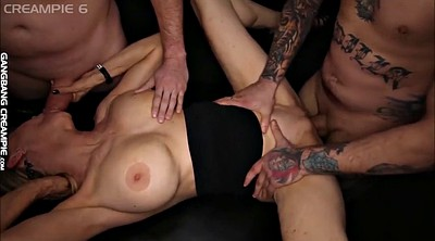 Creampie compilation, Creampie gangbang