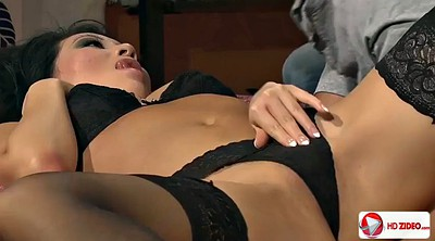 Anal asian creampie, Deep creampie