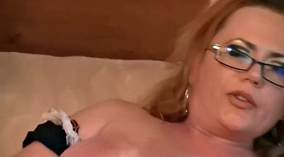 Russian mature, Mature anal dildo, Glasses