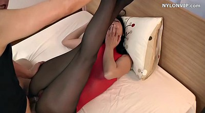 Japanese foot, Maid, Japanese black, Pantyhose foot, Japanese pantyhose, Nylon foot
