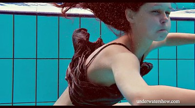 Teen solo, Swimming, Dress, Swim, Underwater, Swimming pool