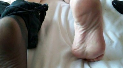 Nylon feet, Wife black, Tight, Slut wife, Pussy gaping, Pantyhose feet