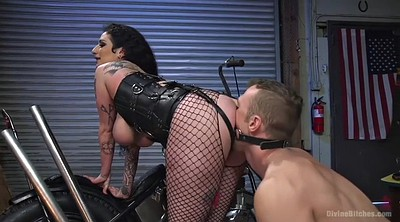 Lick ass, Ass slave, Fishnet