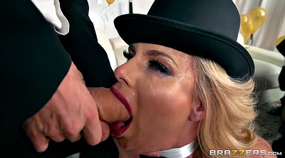Chanel preston, Phoenix marie, Phoenix, Three, Throated, Pantyhose cock