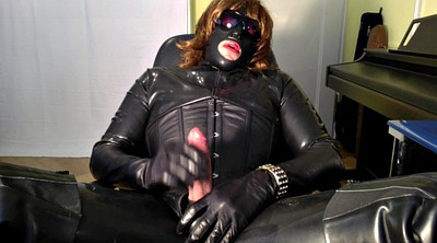 Latex, Black gay, Gay leather, Big cum
