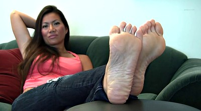 Michelle, Foot fetish, Asian foot