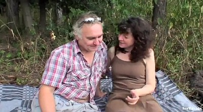 Mature outdoor, Couple sex