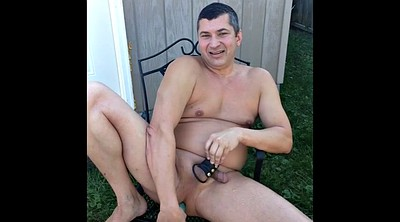Outdoor, Cleaning, Gay dildo