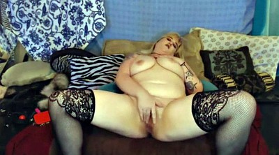 Chubby solo, Huge tits