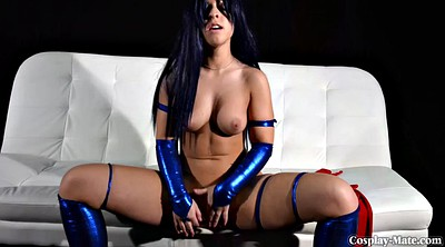 Cosplay, Cosplay masturbation, Solo girl