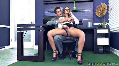 Boss, Secretary, Catch, Caught masturbating