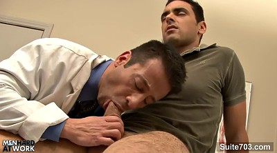 Doctor, Office gay, Gay doctor, Gay big cock, Better