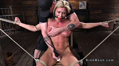 Whipping, Hogtied, Bdsm big tits