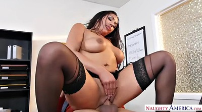 Office boss, Interracial missionary